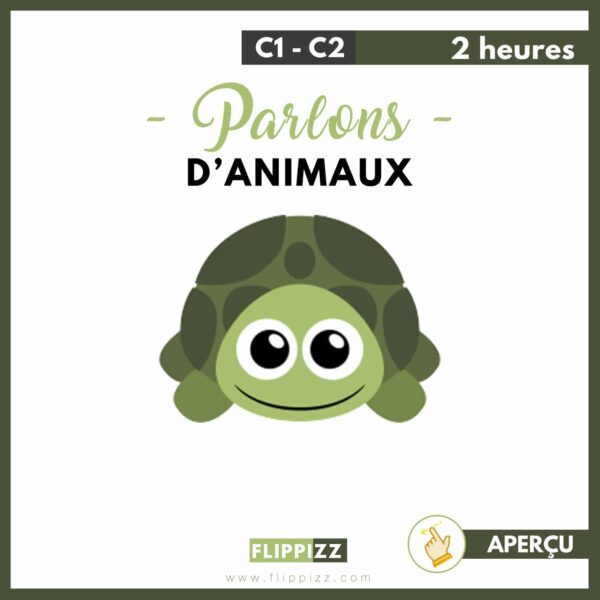 Parlons d'animaux cours fle pdf offert