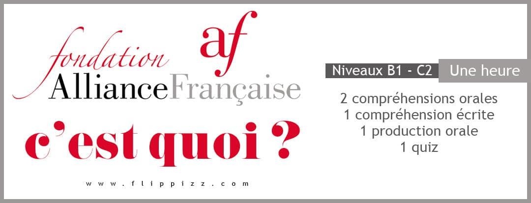 L'Alliance Française, c'est quoi ?