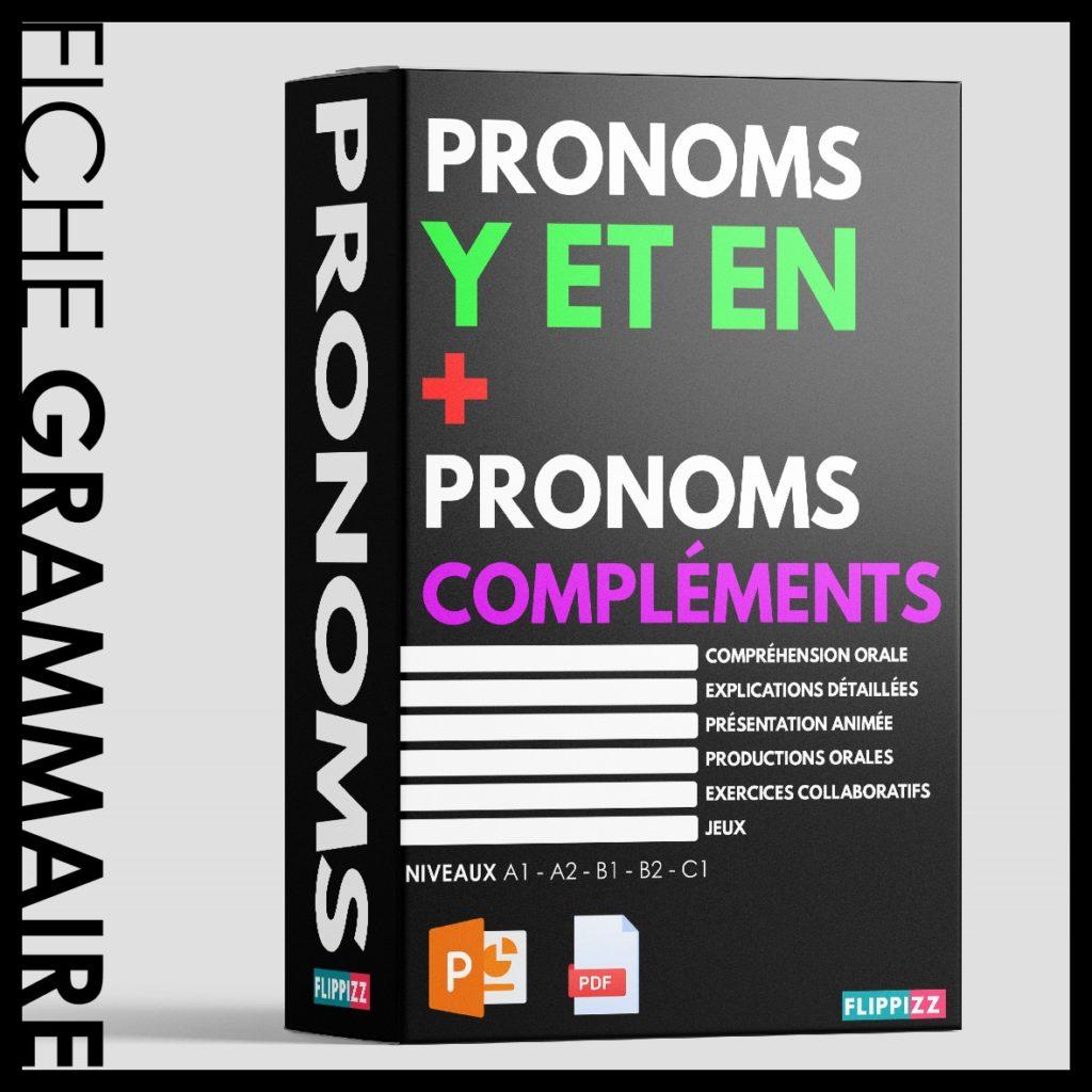 Pronoms y et en en cours de FLE.