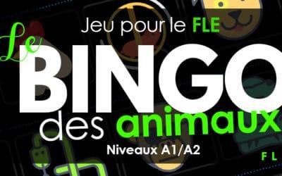Les animaux en cours de FLE : vocabulaire + jeu.