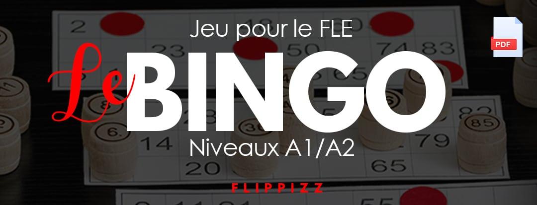 Bingo : Jeu pour apprendre les nombres en FLE.